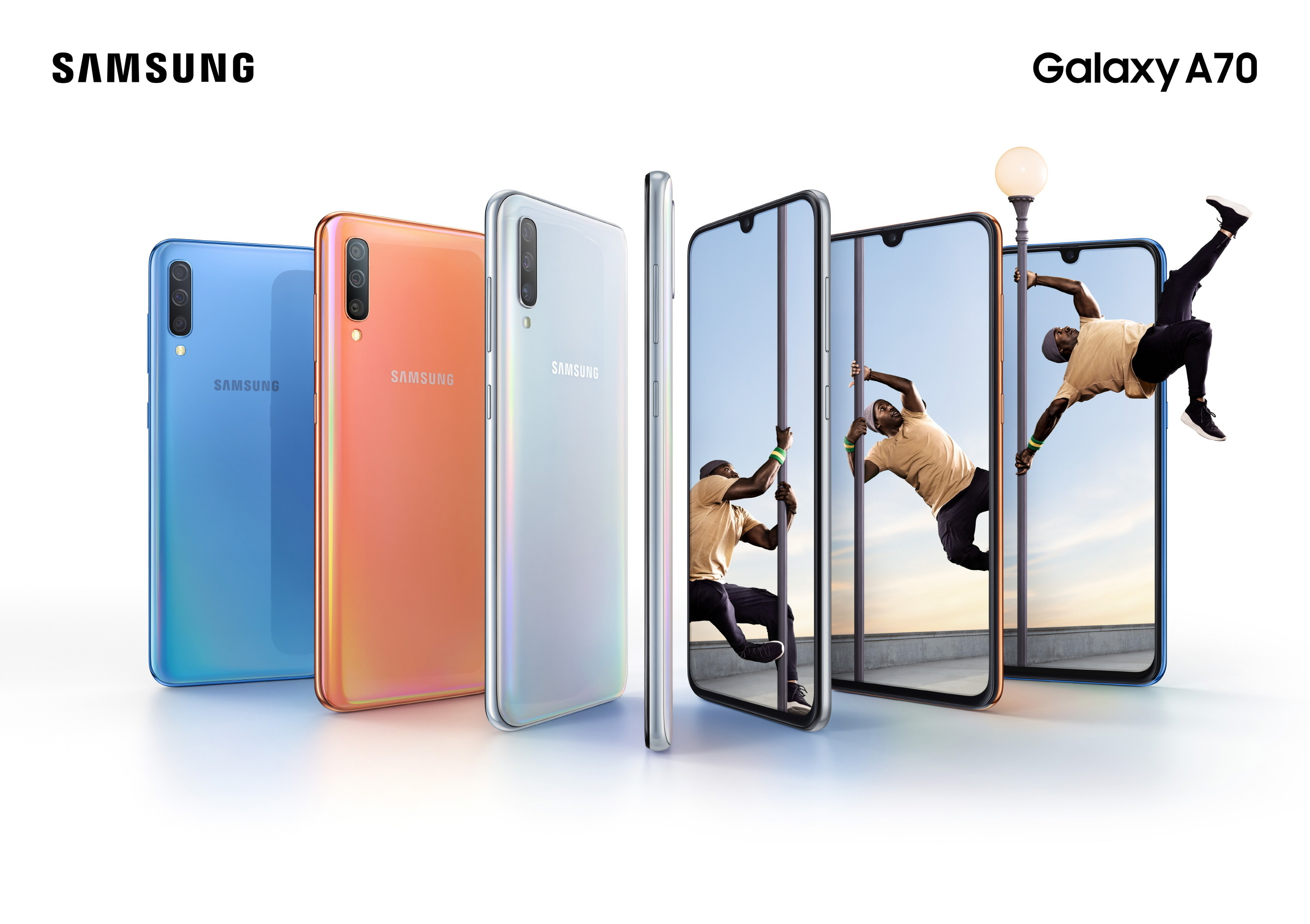 b617890924d Samsung Announces Galaxy A70 With Three Primary Cameras And Many More