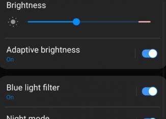 adaptive brightness