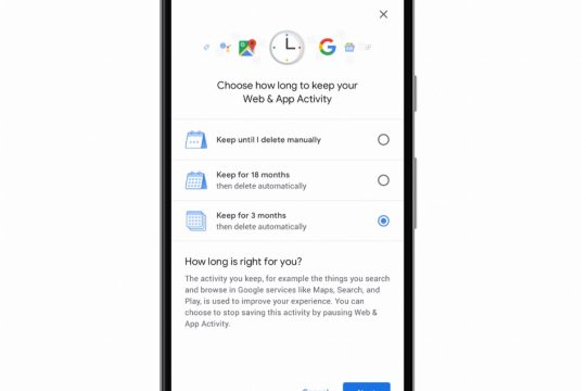 Google Adds Auto Delete Option For Location History And Activity Data