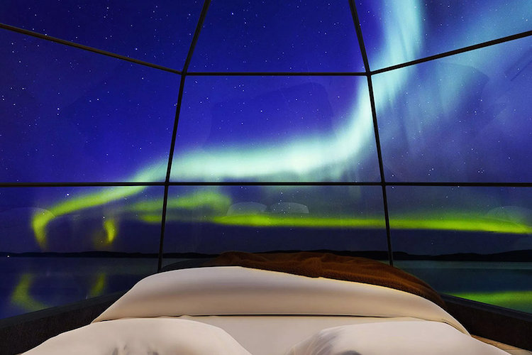 Watch The Northern Lights From This Amazing Glass Igloo In Finland