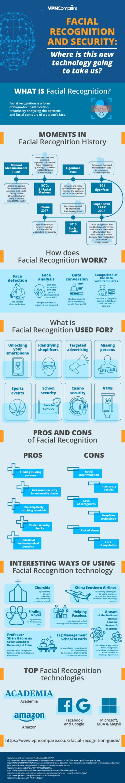 How is facial recognition technology used in payment transactions?