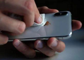smartphone cleaning for coronavirus