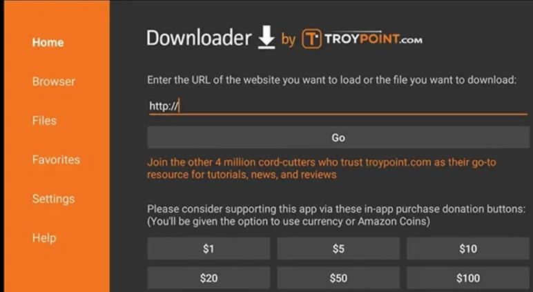downloader app fire tv stick