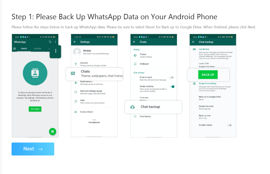 How To Transfer WhatsApp Messages From Android To iPhone Using AnyTrans