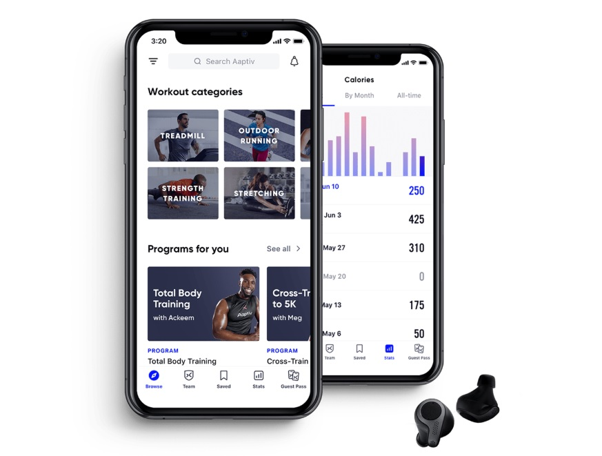 Aaptiv Top 10 Workout Apps