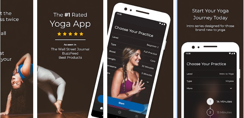 Down Dog Top 10 Workout Apps
