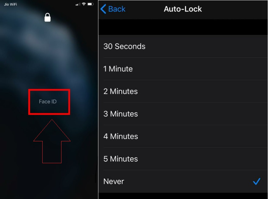 How To Set Up Face ID On iPhone When Wearing A Mask? auto lock