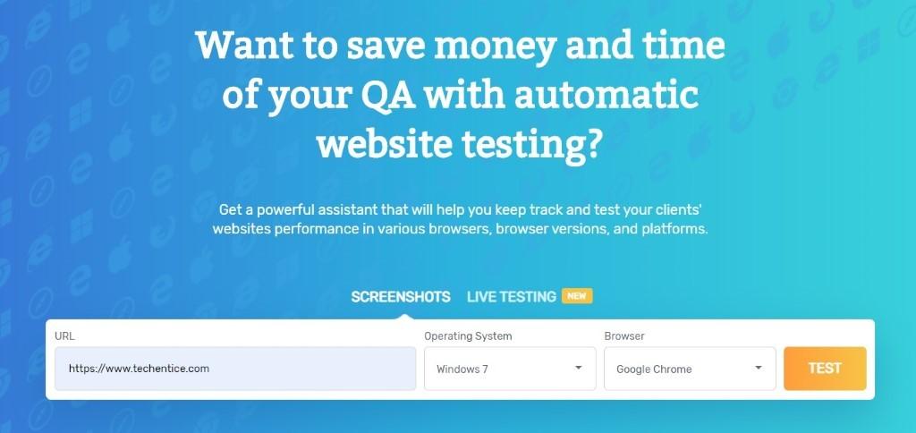 Comparium: An Efficient Website Responsiveness Testing Tool