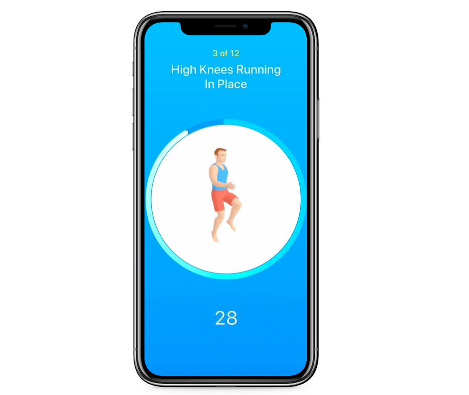 Seven  Top 10 Workout Apps