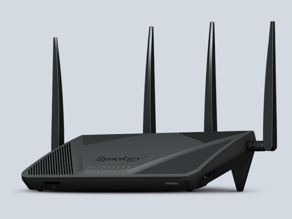 Synology RT2600ac Dual-Band Gigabit Wi-Fi router