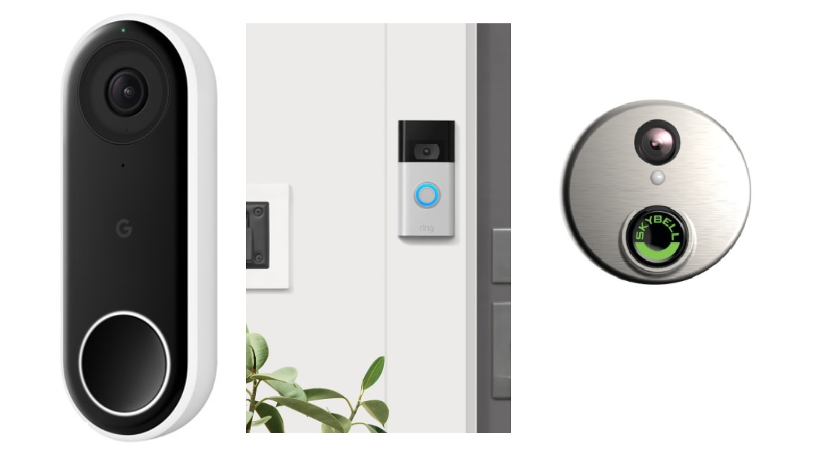 Ring vs Nest Hello vs SkyBell HD