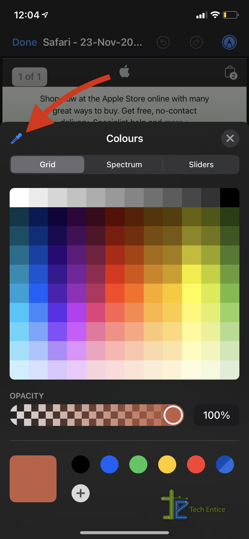 How To Use Markup Color Tools For Your New iPhone And iPad