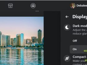 Facebook version for desktop has recently undergone several changes and upgrades, both in terms of facilities and look. The desktop version has also added the much awaited dark theme.