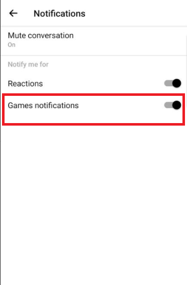 How To Mute Annoying Game Notifications From Facebook Messenger Contacts?