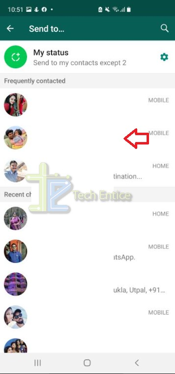 How to share photos from Facebook to  WhatsApp?