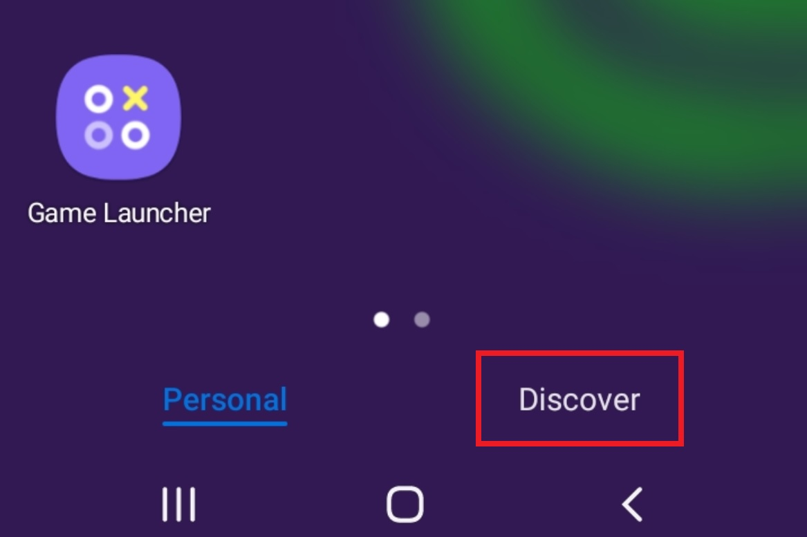 How do I turn off Discover on my Samsung smartphone
