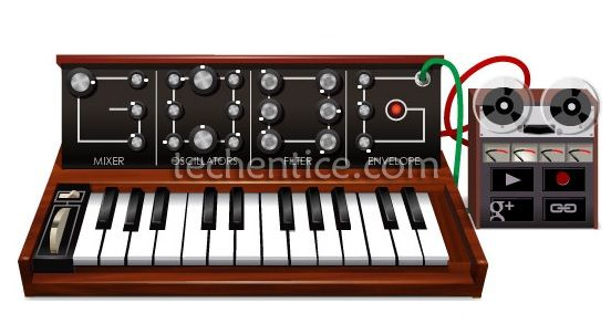 Google Moog Synthesizer